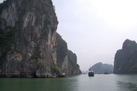 Taking Halong Bay from pleasure boat Stock photo [390690] Vietnam
