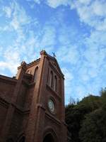 Goto, Dozaki Church of Fukue Island Stock photo [399655] Nagasaki