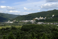 Of Naruko Onsen Distant view Stock photo [403200] The