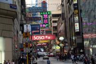 香港の街 の写真素材