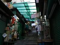 香港の路地 の写真素材