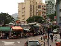 香港島南部のスタンレー の写真素材
