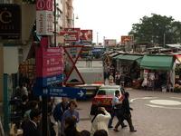 香港島南部のスタンレーマーケット の写真素材
