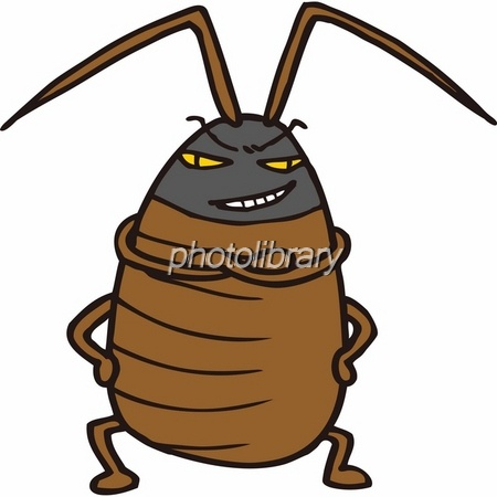 威張るゴキブリ イラスト素材 501495 フォトライブラリー Photolibrary