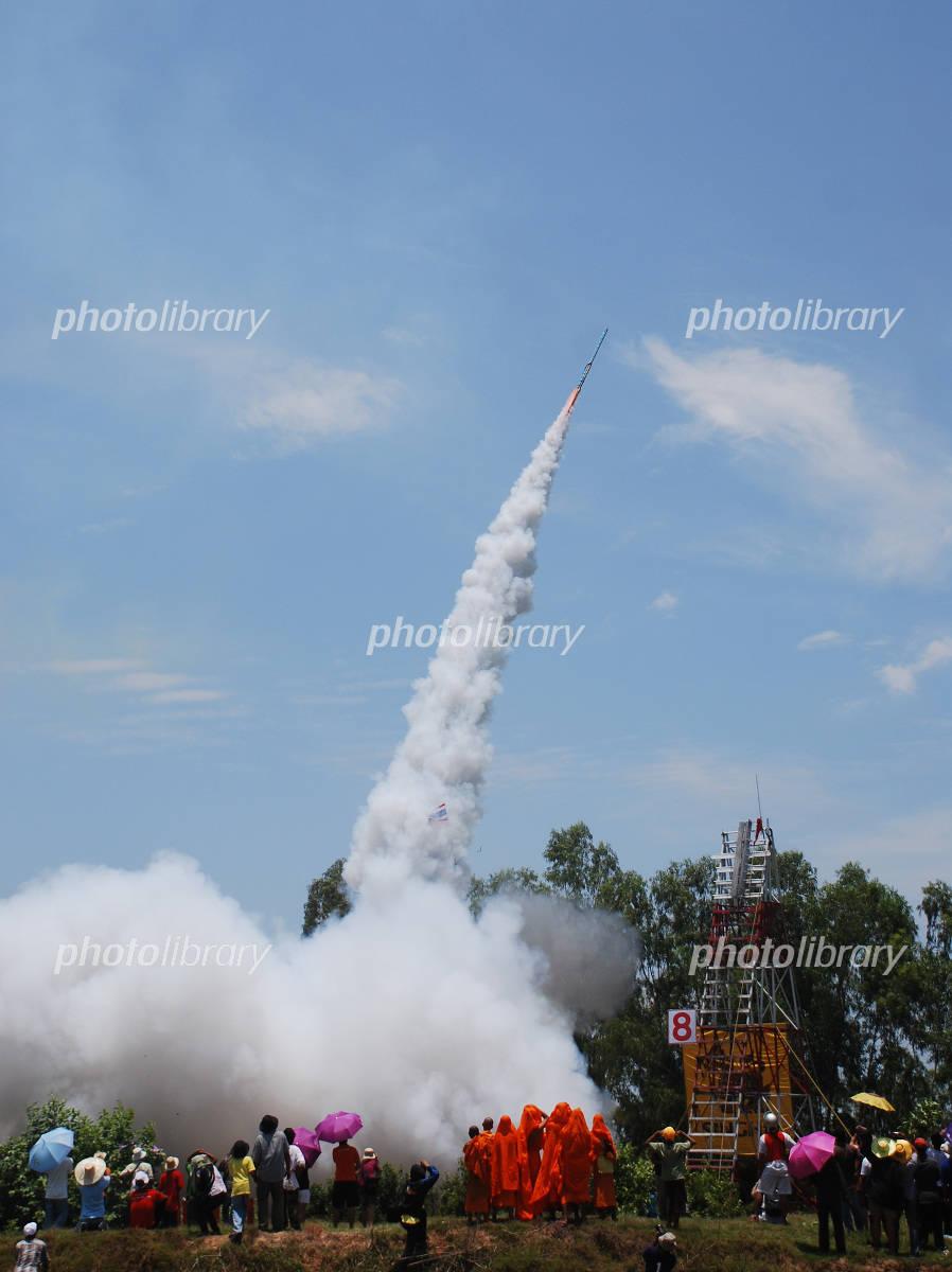 タイ・ヤソトンのロケット祭り ...