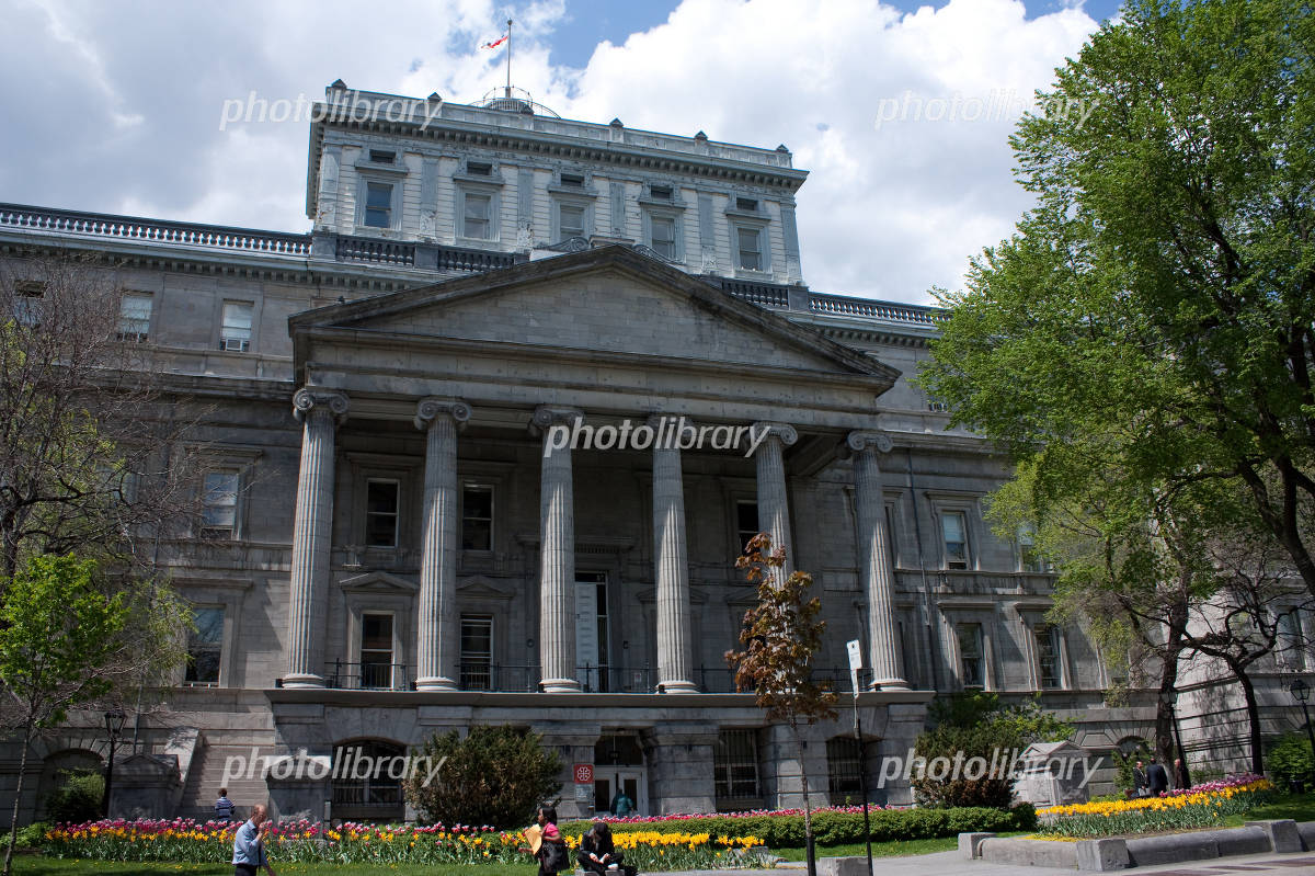 モントリオール 裁判所の写真素材