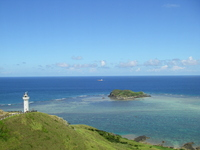 Lighthouse and sea Stock photo [501745] Okinawa