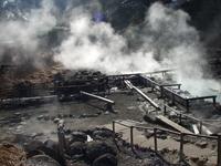 Nipple hot spring hidden spring Stock photo [504754] Hot