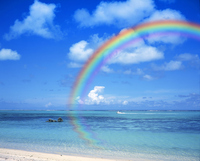 Sea rainbow Stock photo [510092] Summer