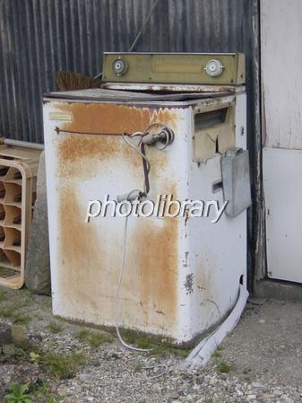 古い洗濯機 写真素材  古い洗濯機 ID 542020   写真素材 ID:542020