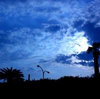 Coast of cloud refers to light Stock photo [547703] Miyazaki