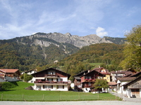 Houses of Brienz Stock photo [550132] Switzerland