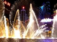 Fountain illumination Stock photo [591325] Water
