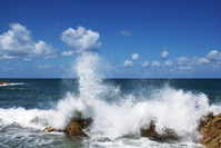 Waves and blue sky Stock photo [594391] Sea