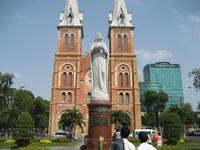 Saigon Notre-Dame Basilica Stock photo [594481] Saigon