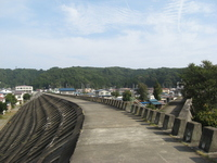 Seawalls of Taro Stock photo [595979] Coastal