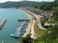 Suo Oshima Wasa of village as seen from Koike Stock photo [597620] Suo