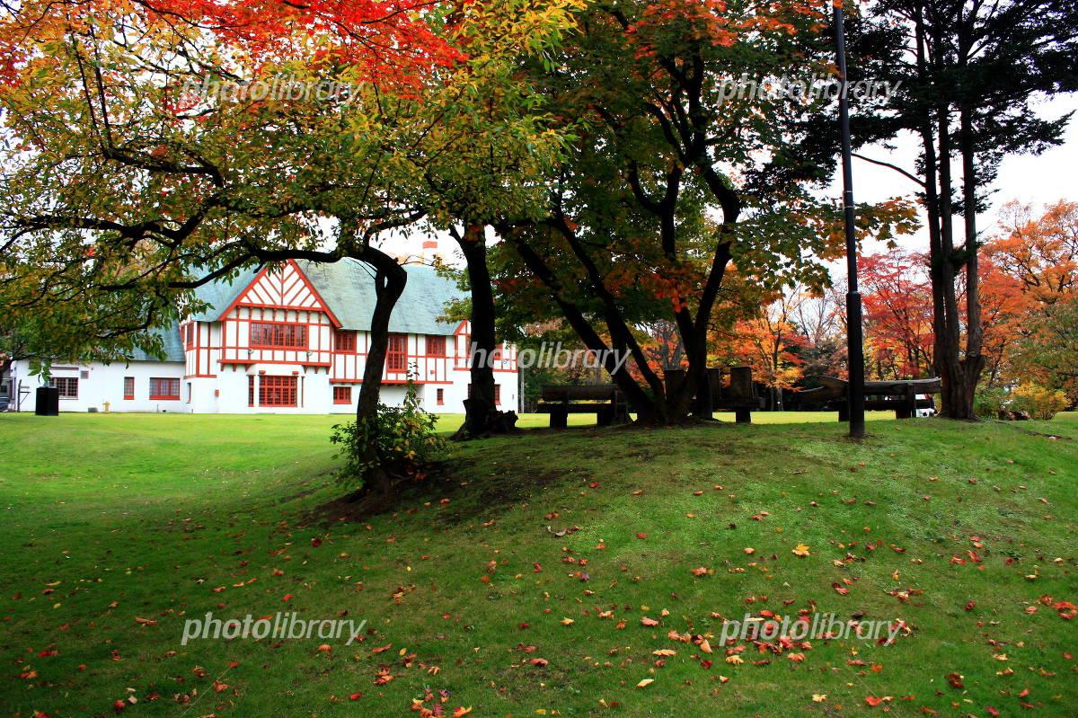 北海道知事公館の紅葉-写真素材 北海道知事公館の紅葉 画像ID 671418  北海道知事公館の