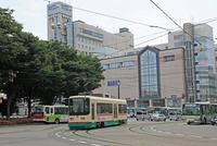 Tram of Toyama station road Stock photo [916040] Toyama