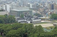 Toyama Castle overlooking from Toyama city hall observatory Stock photo [916053] Toyama