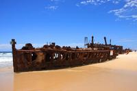 Fraser Island and Maheno issue Stock photo [917874] Australia