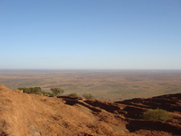 Superb view from Ayers Rock Stock photo [919426] Ayers