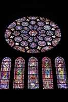 Chartres Notre Dame Cathedral Stained Glass Stock photo [919817] Chartres