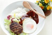 Loco Moco bowl of Hawaii cuisine Stock photo [921511] Hawaiian