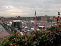 Mexico Mexico City Zocalo Square Stock photo [922576] Football
