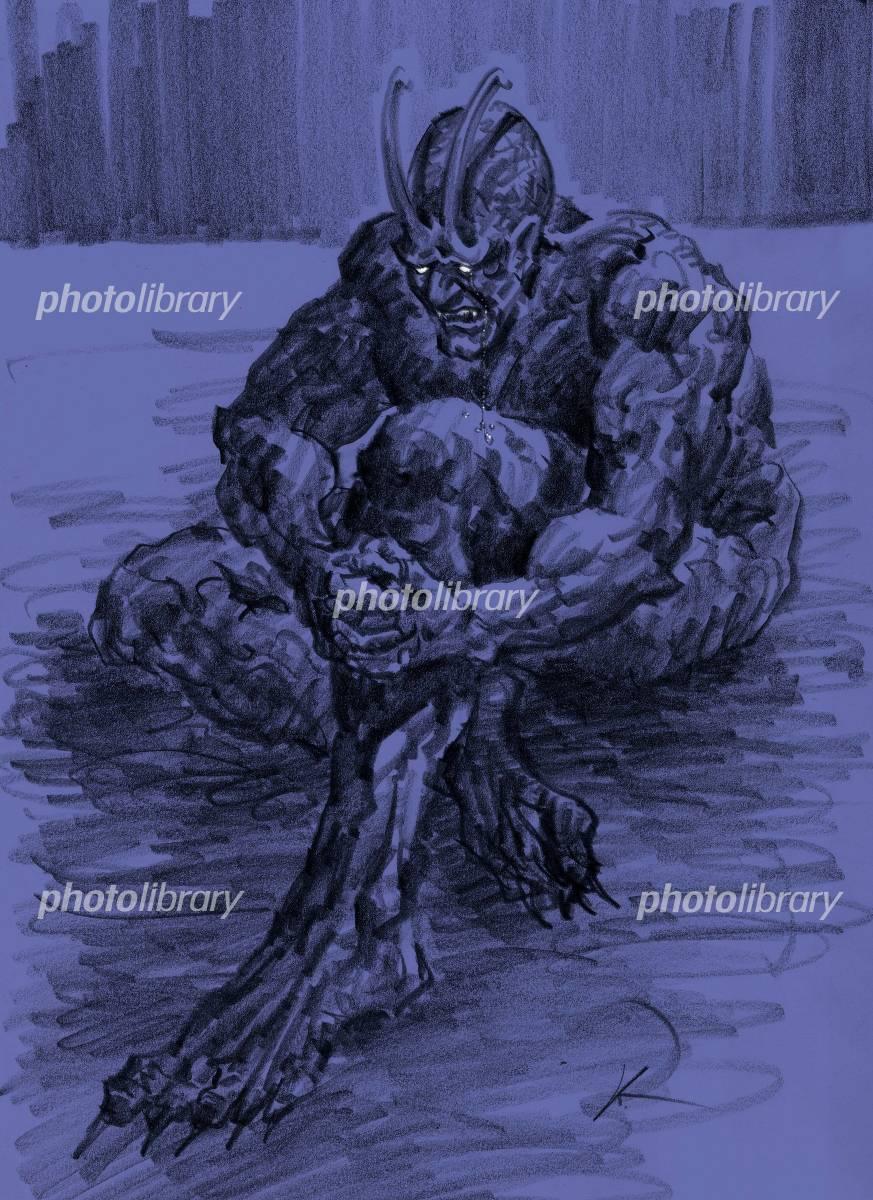 魔物 イラスト素材 1019214 フォトライブラリー Photolibrary
