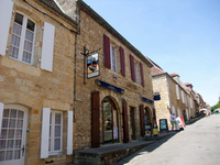 Domme France's most beautiful villages Stock photo [1015971] Domme