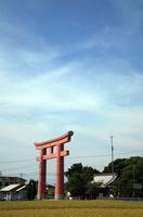 Awaji Onokoro Island Shrine Torii Stock photo [1016842] Onokoro