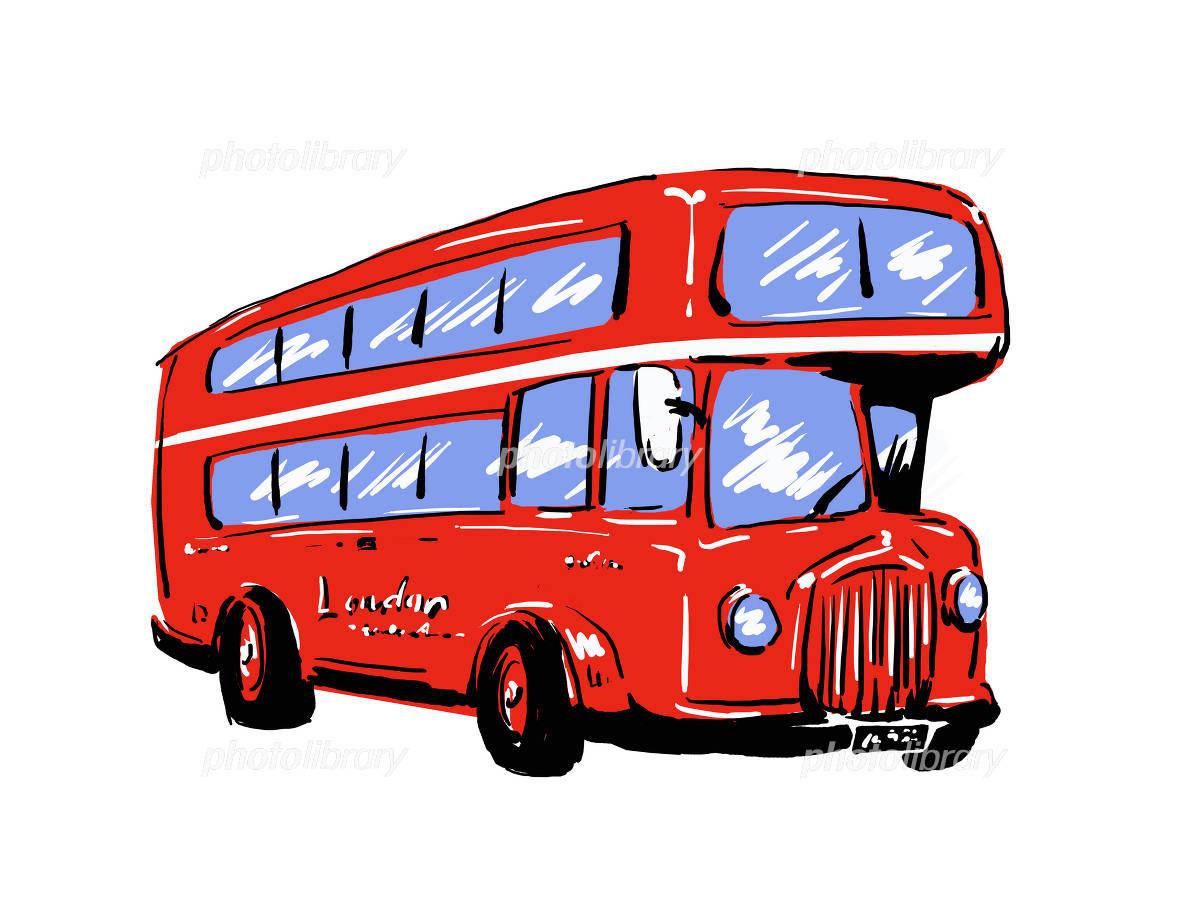 ロンドンバス イラスト素材 [ 1133236 ] - フォトライブラリー photolibrary