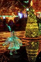 Christmas illuminations of Kego park Stock photo [1128601] Fukuoka