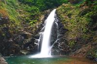 Waterfall of dark Gate Shirakami Stock photo [1129715] Akita