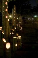 Usuki bamboo evening of bamboo lanterns Stock photo [1132469] Take-tokago