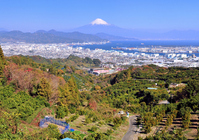 Landscape from the hillside Nihondaira Stock photo [1133622] Mt.