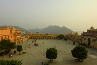 Amer Fort Square Stock photo [1138960] Amer
