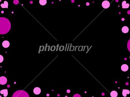 ハート 背景黒-写真素材  ハート 背景黒 画像ID 1237367  ハート 背景黒