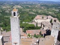 World Heritage San Gimignano historical district of landscape Stock photo [1234868] Italy