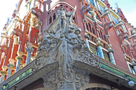 Barcelona Palau de la Musica Catalana Stock photo [1237264] World