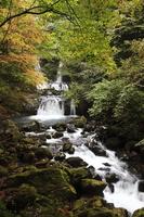 Waterfall of Ontakesan Sunlight Stock photo [1239914] Ontakesan