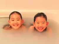 Sister take a bath Stock photo [1242764] Kids