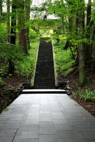 Bessho Onsen Anraku-ji approach Stock photo [1246465] Bessho