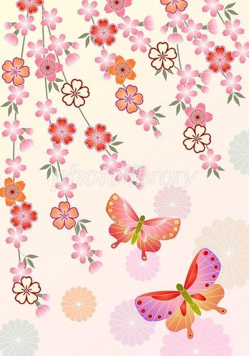和風 桜 イラスト かっこいい