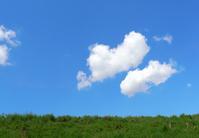 Blue sky of spring Stock photo [1334180] Spring