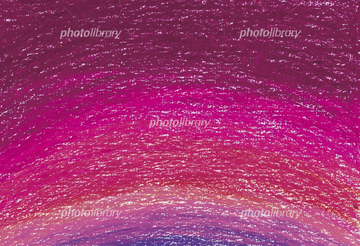 クレヨンで描いた背景 ピンク イラスト素材 フォトライブラリー Photolibrary