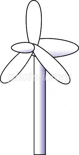 風力発電 イラスト素材 1417275 フォトライブラリー Photolibrary