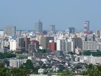 Summer of Sendai Aoba Castle Park Stock photo [1410600] The