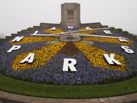 Canada Niagara Flower Clock Stock photo [1414280] Kanata